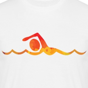 Colored float - Men's T-Shirt