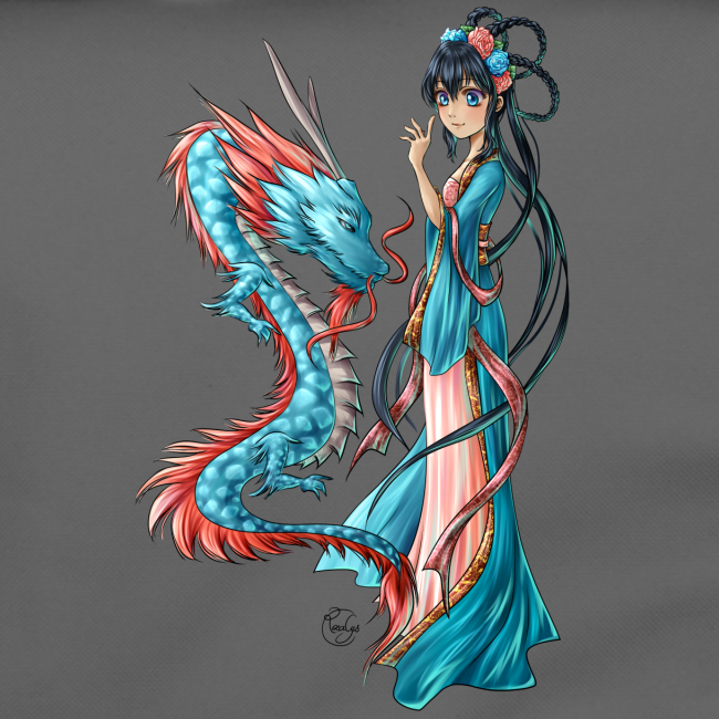 Blue Dragon bandoulière