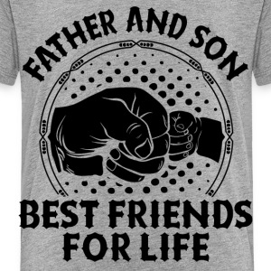 Father And Son Best Friends For Life Shirts - Kids' Premium T-Shirt