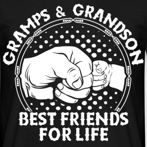 Gramps & Grandson Best Friends For Life T-Shirts - Men's T-Shirt
