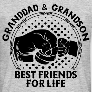 Granddad & Grandson Best Friends For Life T-Shirts - Men's T-Shirt