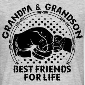 Grandpa & Grandson Best Friends For Life T-Shirts - Men's T-Shirt
