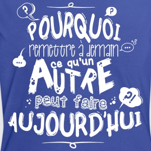 Citation de fonctionnaire Tee shirts - T-shirt contraste Femme