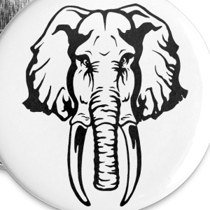 Elephant Buttons - Buttons small 25 mm