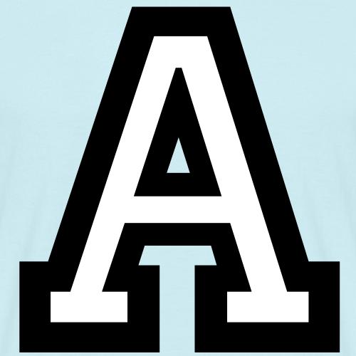 Buchstabe A (zweifarbig)
