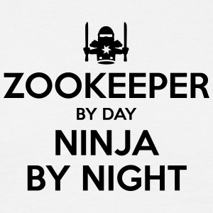 zookeeper day ninja by night - Men's T-Shirt