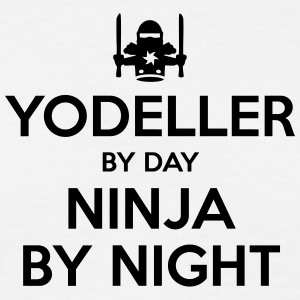 yodeller day ninja by night - Men's T-Shirt