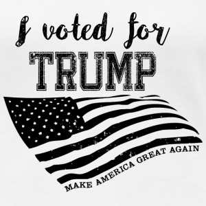 I voted for TRUMP Tee shirts - T-shirt Premium Femme