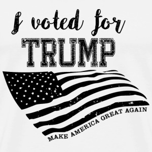I voted for TRUMP T-Shirts - Men's Premium T-Shirt