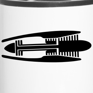 turbine _engine_mt1 Mugs & Drinkware - Travel Mug