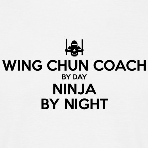 wing chun coach day ninja by night - Men's T-Shirt