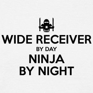 wide receiver day ninja by night - Men's T-Shirt