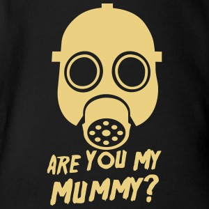 Doctor Who Are you my Mummy? Baby Bodysuits - Organic Short-sleeved Baby Bodysuit