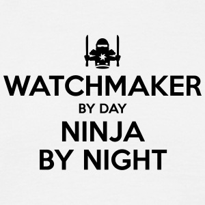 watchmaker day ninja by night - Men's T-Shirt