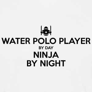 water polo player day ninja by night - Men's T-Shirt