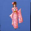 Pink kimono tote bag - Tote Bag