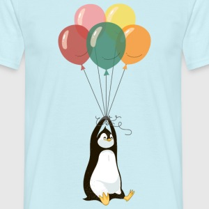 Fyling Penguin T-Shirts - Men's T-Shirt