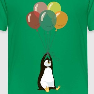 Fyling Pinguin T-Shirts - Teenager Premium T-Shirt