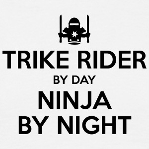 trike rider day ninja by night - Men's T-Shirt