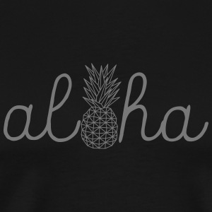 Aloha Pineapple T-Shirts - Men's Premium T-Shirt