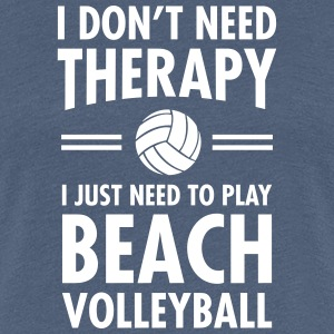 Therapy - Beach Volleyball T-Shirts - Women's Premium T-Shirt