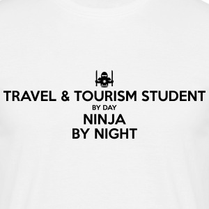 travel  tourism student day ninja by nig - Men's T-Shirt