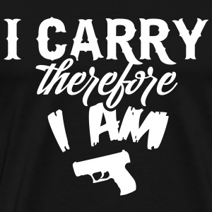 I carry therefore I am T-Shirts - Männer Premium T-Shirt