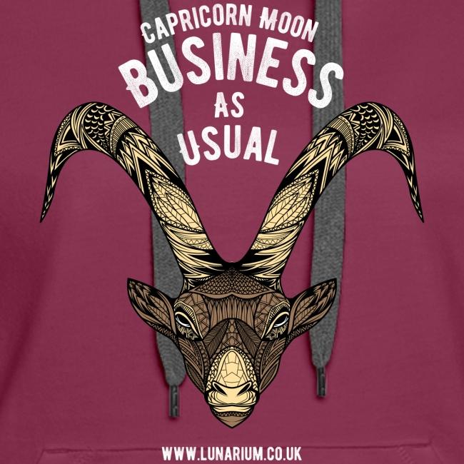 Capricorn Moon Women's Premium Hoodie