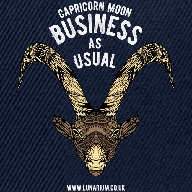 Capricorn Moon Snapback Cap