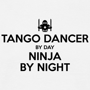 tango dancer day ninja by night - Men's T-Shirt
