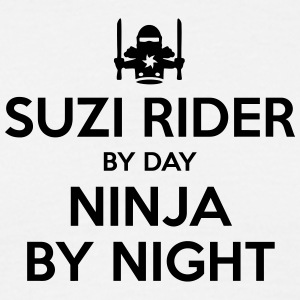 suzi rider day ninja by night - Men's T-Shirt