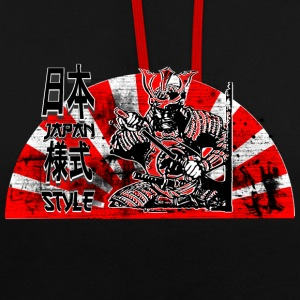Samurai Japan Style Sweat-shirts - Sweat-shirt contraste