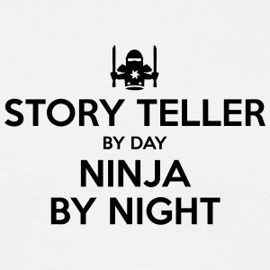 story teller day ninja by night - Men's T-Shirt