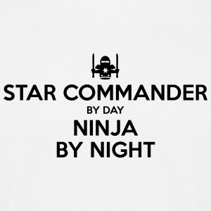 star commander day ninja by night - Men's T-Shirt