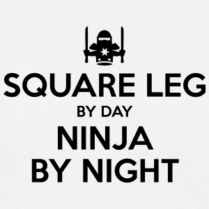 square leg day ninja by night - Men's T-Shirt