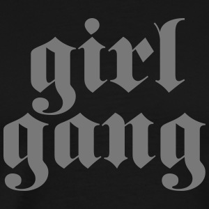 Girl Gang T-shirts - Herre premium T-shirt