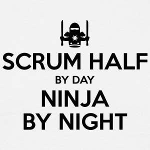 scrum half day ninja by night - Men's T-Shirt