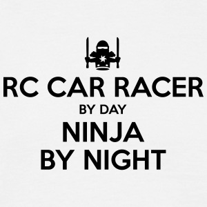rc car racer day ninja by night - Men's T-Shirt
