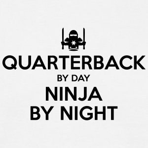 quarterback day ninja by night - Men's T-Shirt