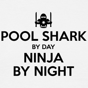 pool shark day ninja by night - Men's T-Shirt