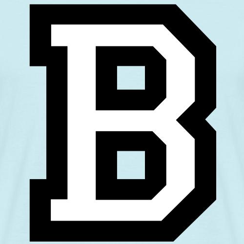 Buchstabe B (zweifarbig)