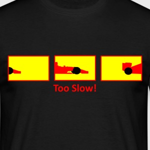 red formula 1 car - Men's T-Shirt