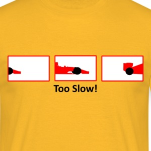 red formula 1  - Men's T-Shirt