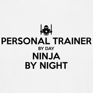 personal trainer day ninja by night - Men's T-Shirt