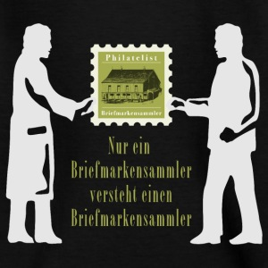 briefmarkensammler_11_2016_white02 T-Shirts - Kinder T-Shirt