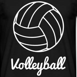 Volley, Volleyball - Männer T-Shirt