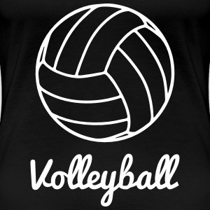 Volleyball Volley ball T-shirts - Dame premium T-shirt