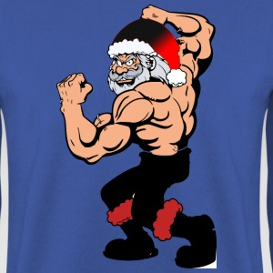 Body building Santa Claus, funny christmas Hoodies & Sweatshirts - Men's Sweatshirt