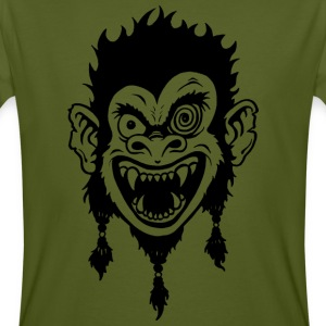Crazy Monkey T-Shirts - Men's Organic T-shirt