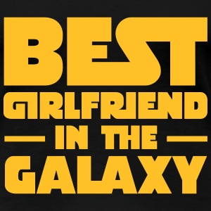 Best Girlfriend In The Galaxy T-shirts - Dame premium T-shirt